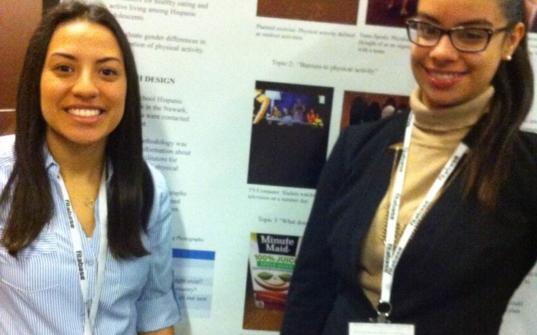 Public Health students present at Society of Behavioral Medicine conference