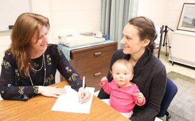 Jillian Trabulsi's research explores healthy infant weight gain