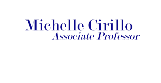 Michelle Cirillo's Homepage