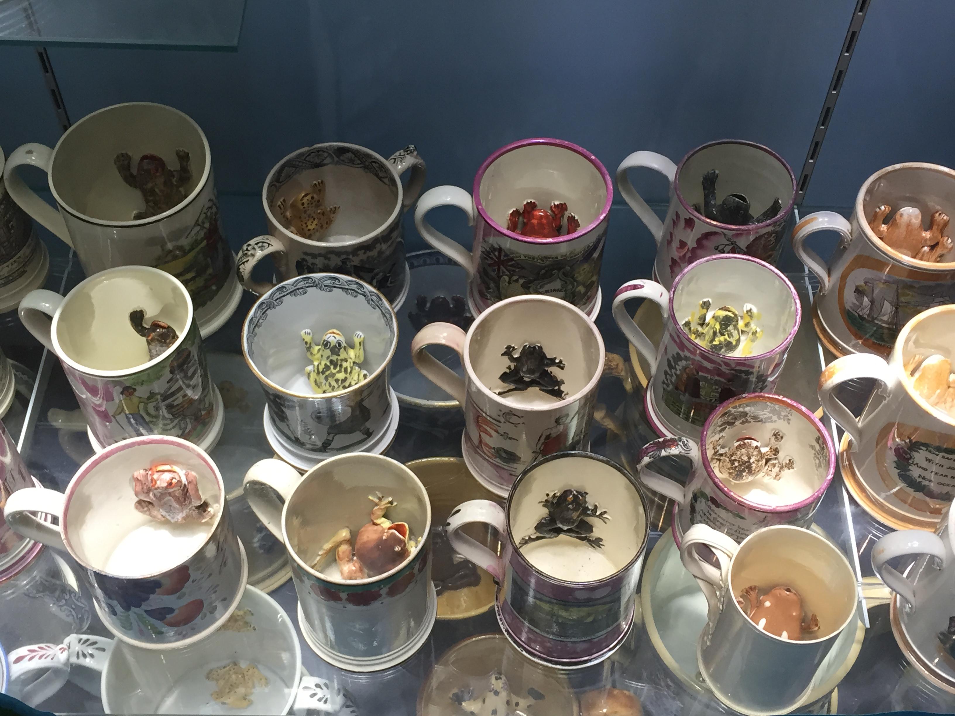 Davies Collection of Frog Mugs