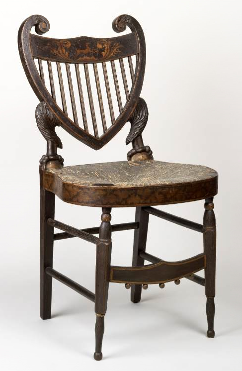 William Buttre's Eagle Fancy Chair in the American Economy and Domestic  Interior, 1805-25 | Material Matters