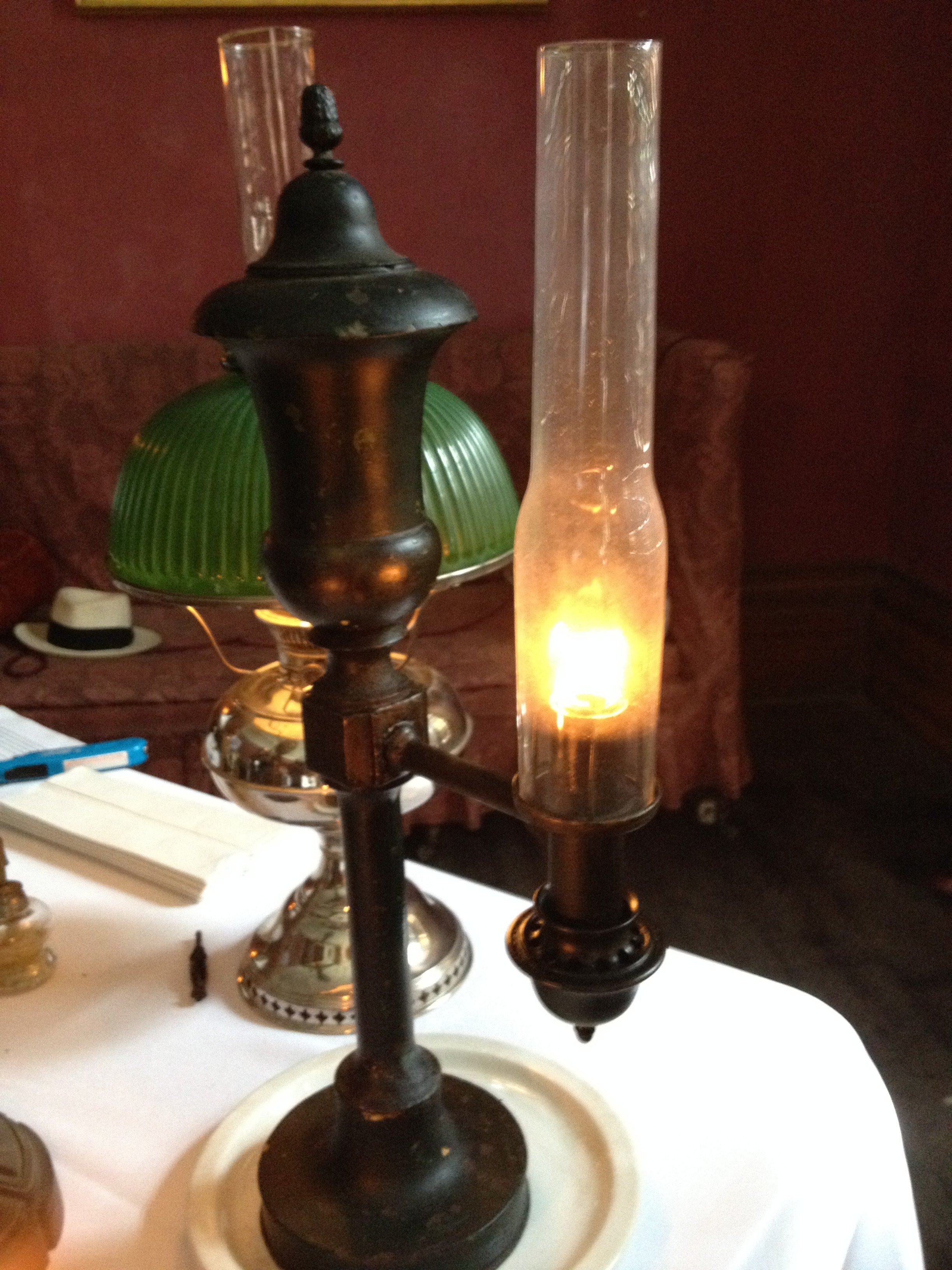 The Glow Of The Argand Lamp