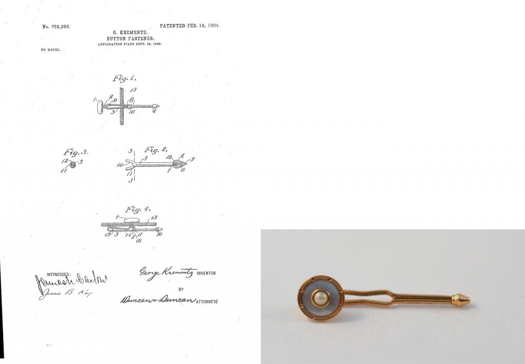 """Thesis Research 2015: """"'Jewelry for Gentlemen': Krementz"""