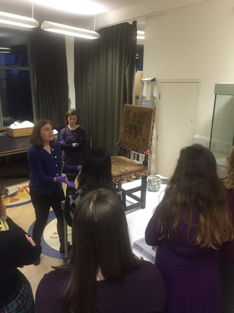 Several curators at the Geffrye Museum allow us to examine their objects!