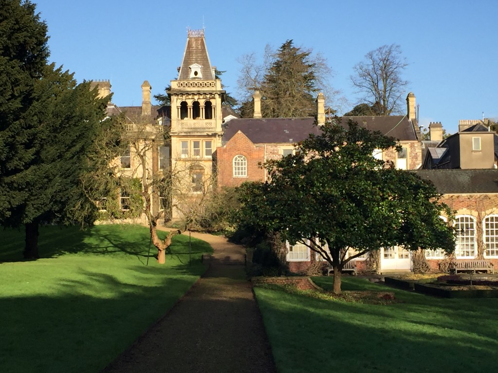 Goldney Hall from the garden