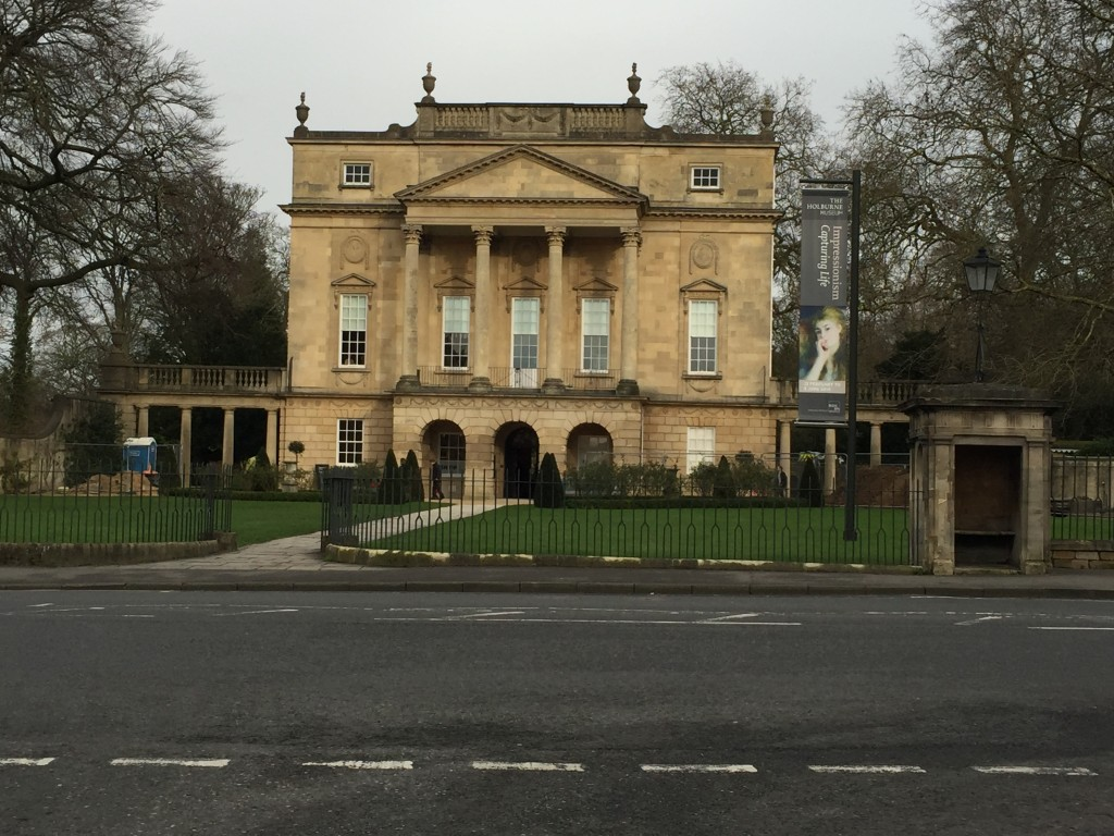 The Holburne Museum in Bath, England.