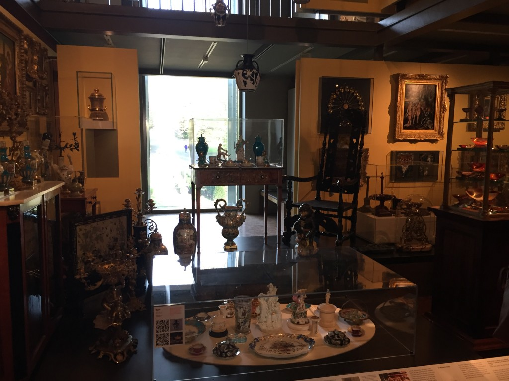 Some of museum Founder Sir Thomas William Holburne's Personal collection of objects