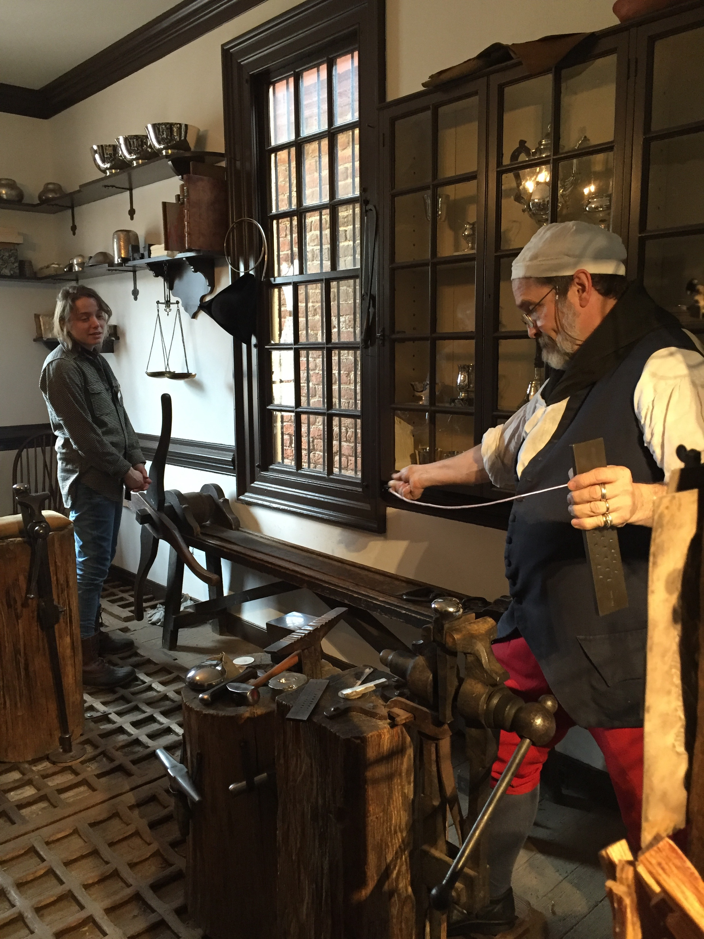 The Silversmith Teaching The Historic Trades Material Matters