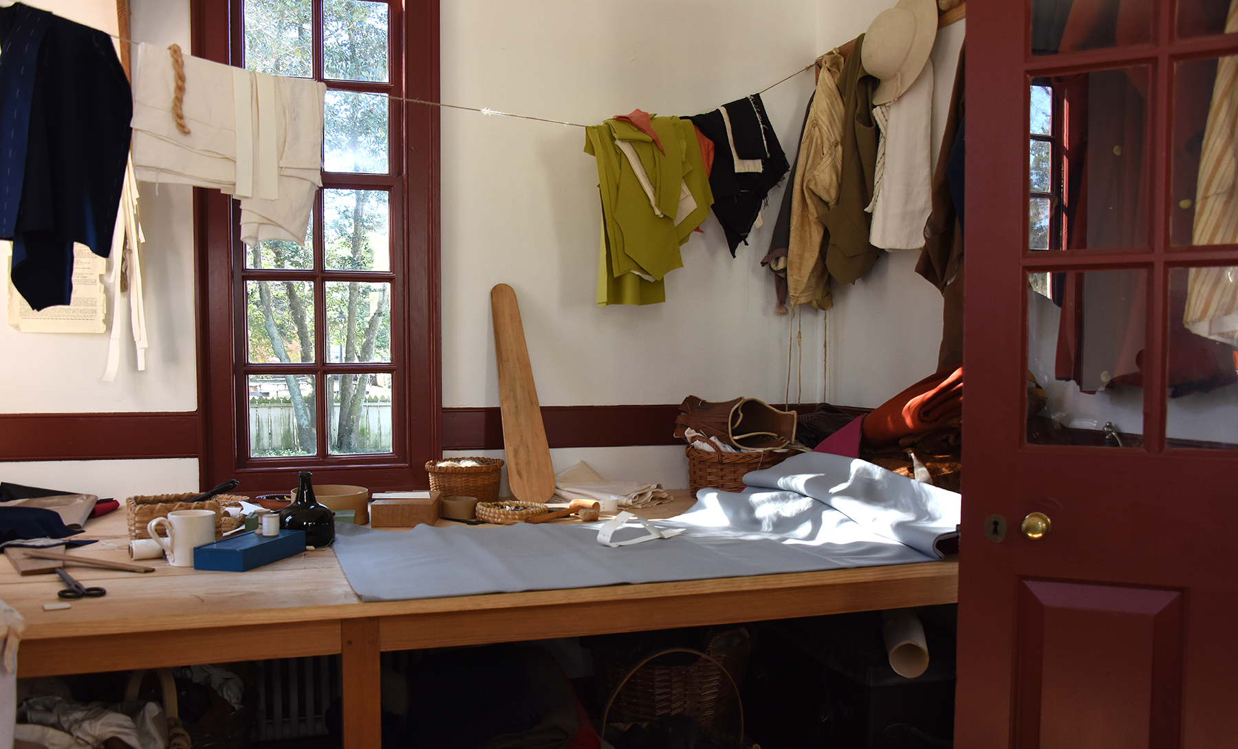 made to measure  the tailor shop at colonial williamsburg