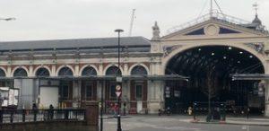 External view of Smithfield Market.