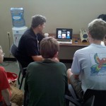 Kids Learning from Art Trembanis