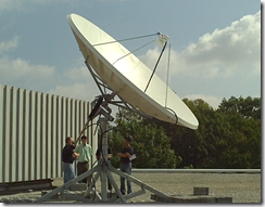 UD Geosynchronous Satellite Dish