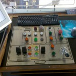 CTD Handling System Control Station - RV Hugh R Sharp