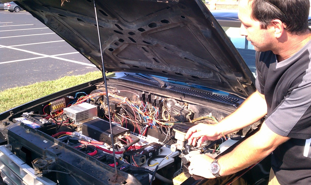 Chevy S10 - Under the Hood