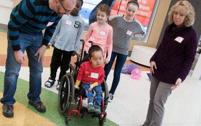 Interdisciplinary solutions to pediatric mobility