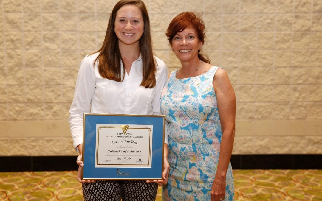 DPT Students Recognized for Fundraising Efforts