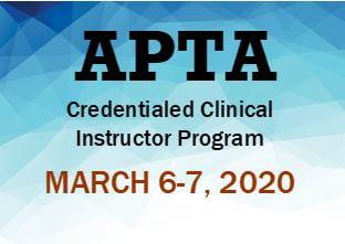 APTA Credentialed Clinical Instructor Program