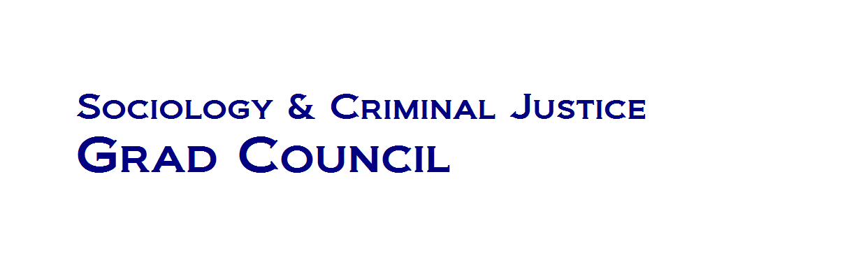 UD Sociology and Criminal Justice Grad Council
