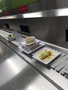 Dining hall food waste