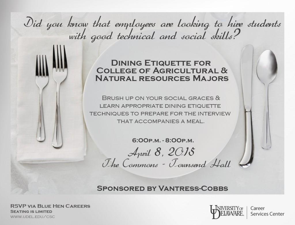 Dining Etiquette2015