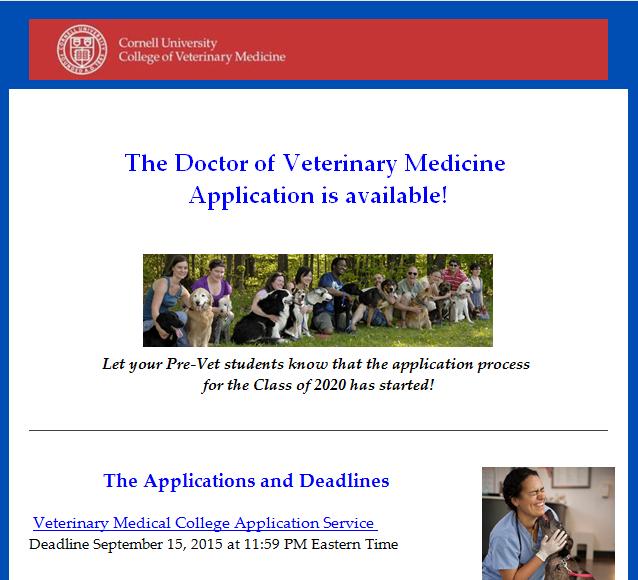 Cornell Vet School App