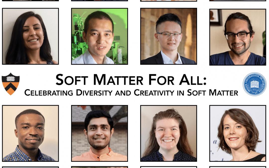 Soft Matter for All Returning in October 2021