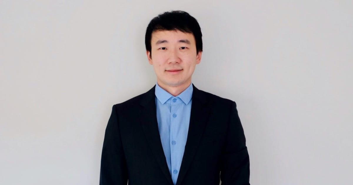 Postdoc fellow Tianren Zhang
