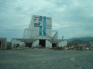Vertical evacuation shelter - Rikuzen-Takata, Japan June 2011.
