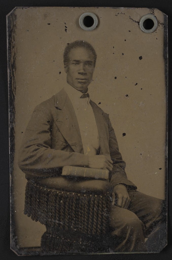 Portrait of a man, seated