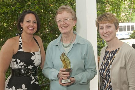 Left to right: Marcia Nickle, Anne Boylan, Rebecca Davis