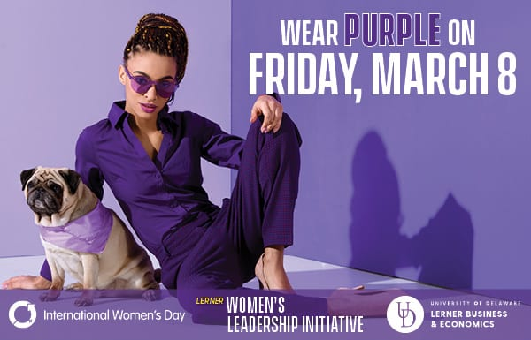 March 8: Wear Purple for International Women's Day