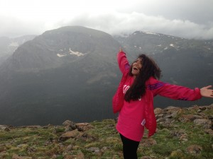Up in the Rocky Mountains