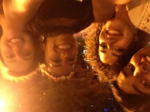 Fatma and her friends in Denver