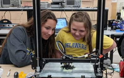 K-12 Students Learn from UD Expertise