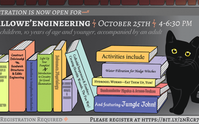 Registration is now open for Hallowe'Engineering!