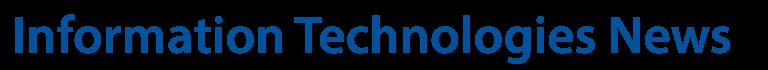 Information Technologies | News