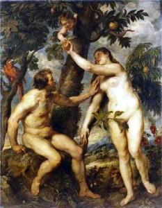 """The Fall of Man"" Rubens, 1628-29"