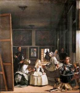 """""""Las Meninas"""" Velasquez, 1656"""