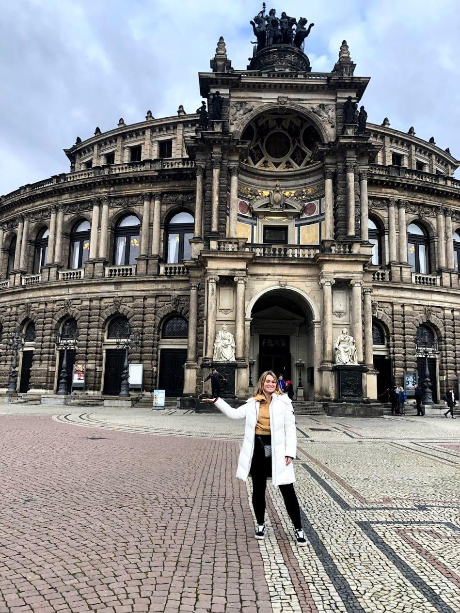 Germany Semperoper Opera House Ud Abroad Blog