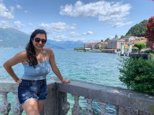 Puja Lake Como