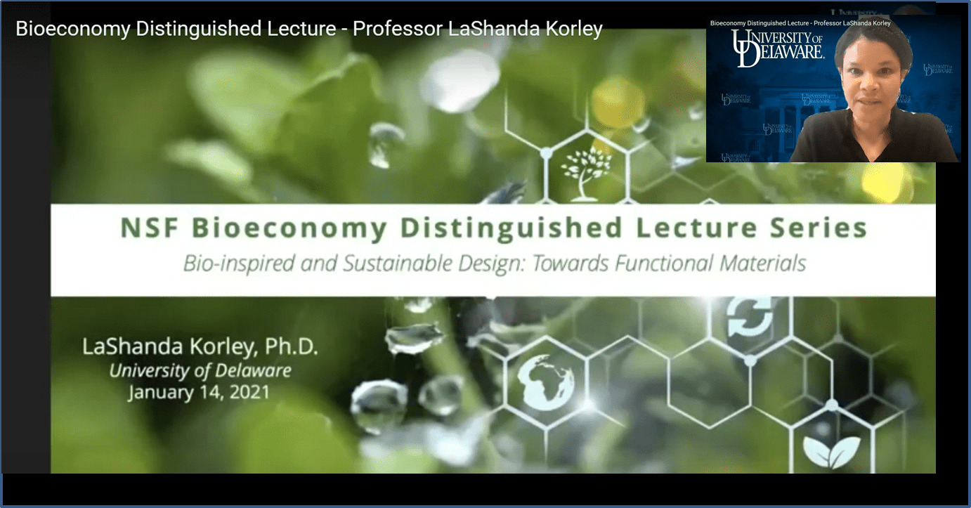 NSF Bioeconomy Lecture Series Introduction