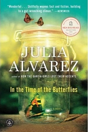 Book cover of Alvarez's In the Time of the Butterflies