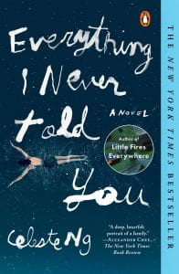 Everything I Never Told You bookcover