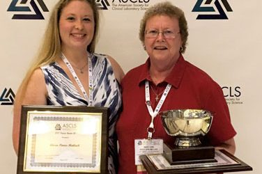 Faculty Member and Alumna Win Awards