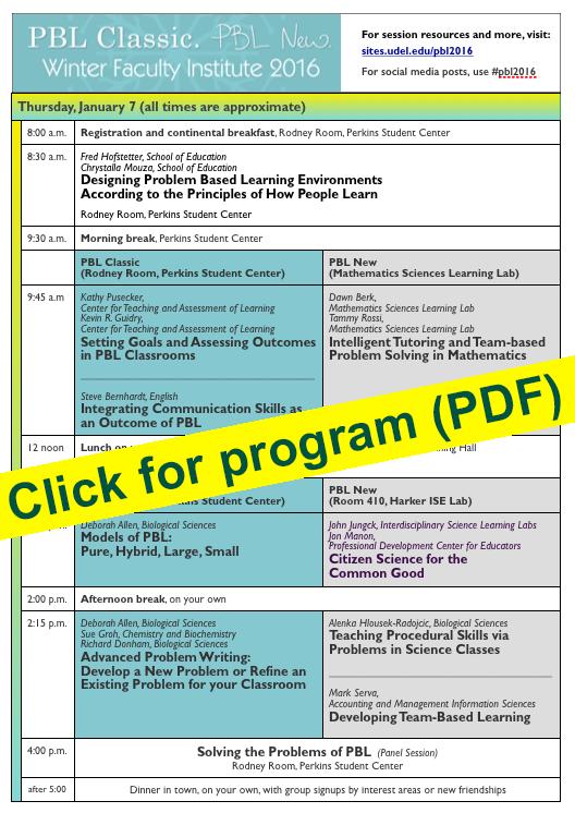 PBL2016 program (PDF)