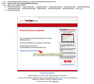 Today's Verizon Wireless Scam
