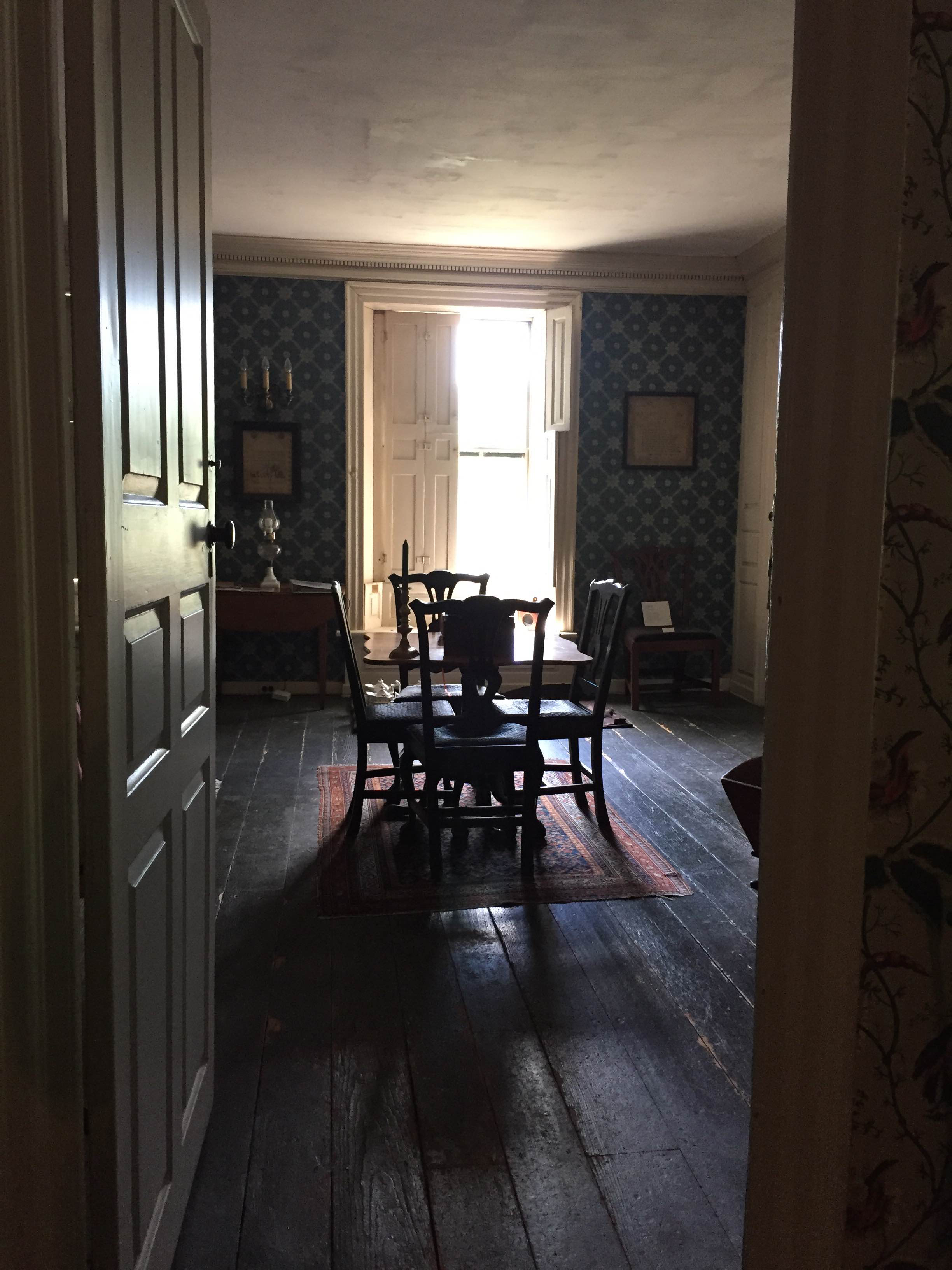 A peek inside the Loring-Greenough Hosue
