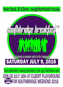 Southbridge Free Breakfast
