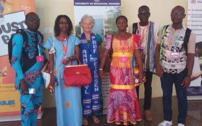 Ivorian Team at Ghana ISSDB Conference
