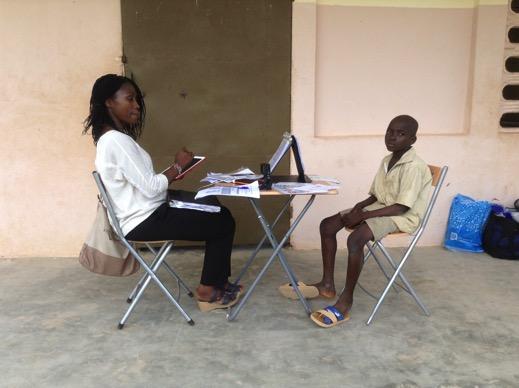 School conditions in rural Côte d'Ivoire